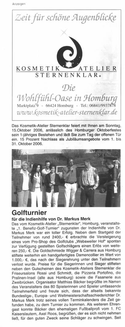 Bagatelle Oktober  2006